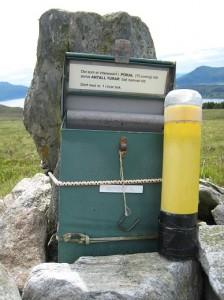 Postkasse Tverreidet