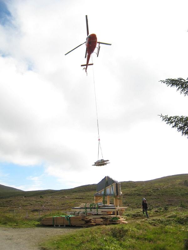 Helikopterfrakt
