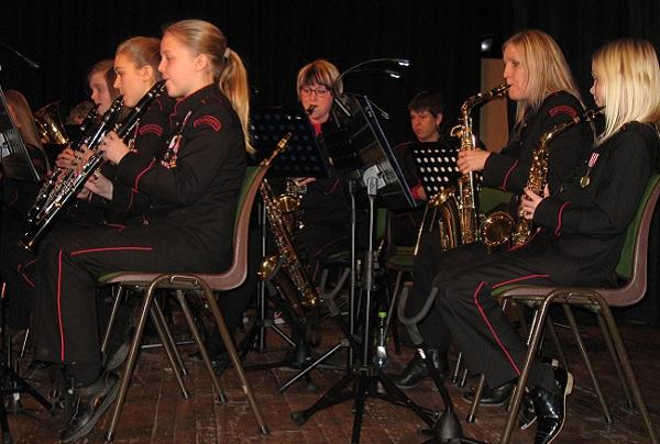 Vårkonsert Flem skulekorps