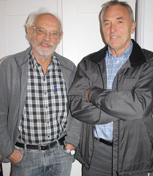 Peter Drabløs og Jan Arne Longva