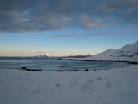 Sandvika i vinterskrud
