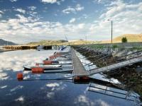 Småbåthamn på Longva