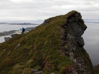 Skulenipa - Fjørtofta og Harøya i bakgrunnen